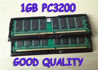 Good quality 2GB 2 x 1GB PC3200 DDR 400 HIGH DENSITY MEM RAM memory 184PIN Desktop MEMORY ddr-400 184-pin free shipping