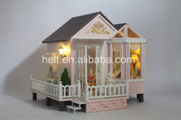 Free shipping DIY wooden doll house,sweet suitor of Travel,handmade wooden toys