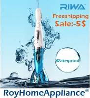 Waterproof RIWA RF-351A Mini Lady's Hair Trimmer Bikini Shaving Hair Remover Depilation in Hair Removal Machine for Women