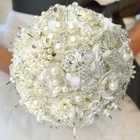 2013 new design customized wedding bouquet, luxury jewel bride bouquet, EMS/DHL free shipping