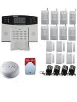 106 Zone Wireless LCD Home Security GSM Wireless Burglar Intruder Alarm System