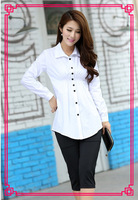 2013 fashion  ladies blouses new designer ladies shirt  cheap long sleeve shirts lady's blouses dress#1031