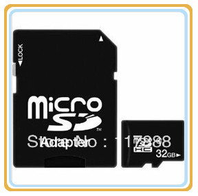 Free Discount 2GB 4GB 8GB 16GB 32GB  MICROSDHC TF FLASH MEMORY CARD WITH SD ADAPTER LE0017