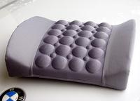 new vehicle electric ergonomics back, waist massage pillow, brand 12v car power-adjustable vibrating massager cushion
