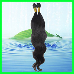 "Virgin Remy Brazilian Peruvian human hair Extension Body Wave hairpiece Trendy Long hair 14'' -26""+Free shipping(China (Mainland))"