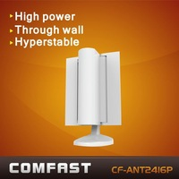 COMFAST high gain DVB-T Antenna like satellite wings high power wifi antenna CF-ANT2416P white color free shipping