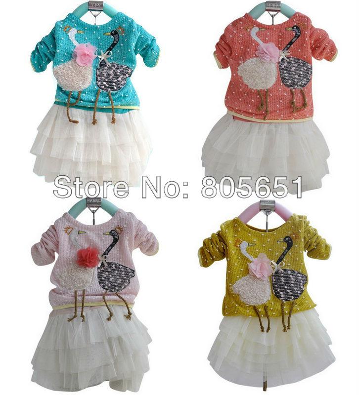 3 Набор одежды девушка много малышей