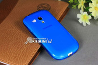 10pcs/lot Silicone Soft TPU Case Cover For Samaung Galaxy S III S3 mini i8190