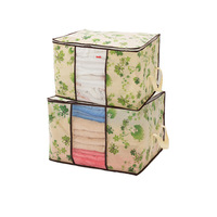 Non-woven quilt bag Storage Box storage Container clothes Storage bag clothes organizer storage cases