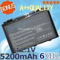 5200mAh Battery For Asus a32-f82 a32-f52 a32 f82 F52 k50ij k50 K51  k50ab k40in k50id k50ij  K40 K42 k42j k50in k60 k61 k70