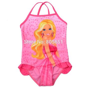 Retail-Hot sale-Freeshipping-Girls Kids Fairy Babie Swimwear Tankini Beachwear Bikini Swimsuit Dress SZ2-9Y Bathing Holiday