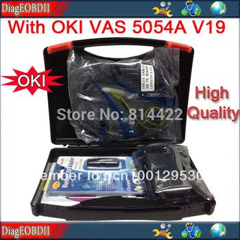 2014Newest With OKI Chip VAS 5054A  ODIS software ,V19 VW A.udi high quality vas5054a diagnostic tool ( Support UDS Protocol) l