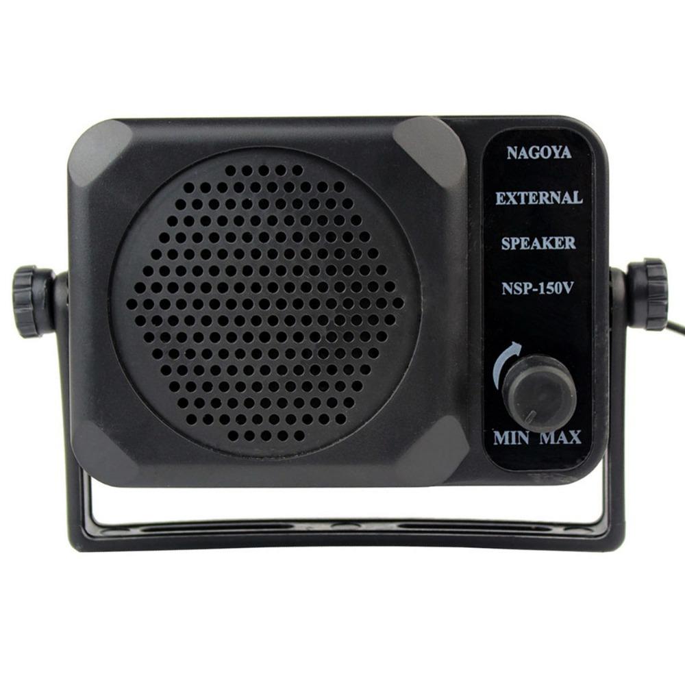 Mini External Speaker NSP-150v ham For Kenwood Motorola ICOM Yaesu Walkie talkie two way CB Ham