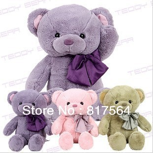 freeshipping Plush animals toy large size75cm teddy bear big embrace  doll /lovers/valentine gifts birthday gift for christmas