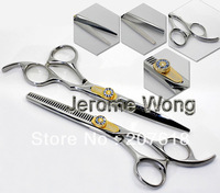 1set=2pcs Hair Cutting Scissors 6 Inch JP440C Hairdressing Kit Professional Barber Salon Thinning Set