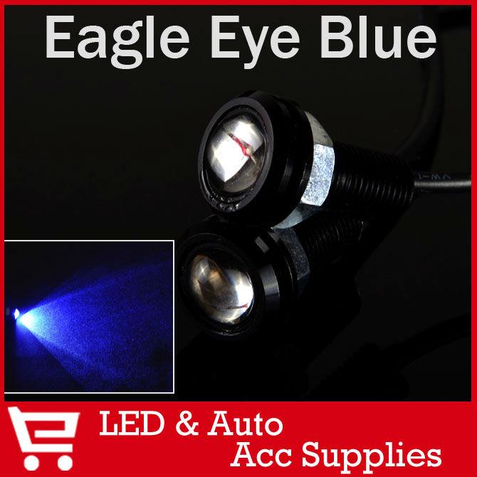 2 X Bolt on Screw LED Mini Eagle Eye Parking Daytime Driving Tail Light Backup DRL Fog Lamp Car Lighting CD061(China (Mainland))