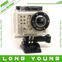 Full HD 1080P Waterproof Car Bike Sports Helmet Action Dash Camera Cam DVR gopro hero 3 type , free shipping