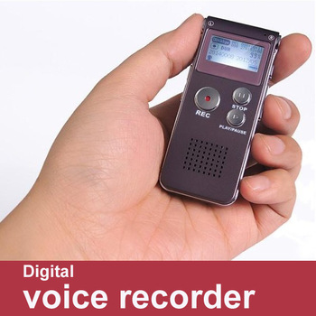 New 4GB Multi-function Rechargeable Digital Telephone Sound Voice Recorder Dictaphone MP3 Player Built-in speaker li-on Battery