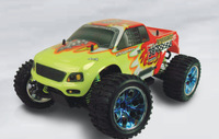 HSP 94111 Pro 4WD 1/10th Scale Electric Powered Off Road Monster Truck brushless motor with 2.4g transmitter rc car model