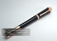 Free Shipping!14k Gold Luxurious Gel Pen Monaco Princess Grace Kelly Limited Edition with Transparent Austria Diamond