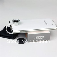 $ 4.19 0.67X Circle Clip Wide Angle Macro Lens Camera for iPhone4 4S 4G 5 5G Blackberry OSINO
