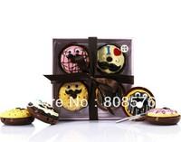 2013 HOT SELLING novelty product free shipping  sweet donut shape lip gloss