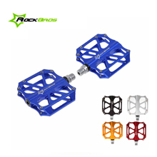 "RockBros Aluminium Bike Cycling Pedals Mountain Bike MTB BMX Pedals Bicycles Parts Axle 9/16"" (5 Color)(China (Mainland))"
