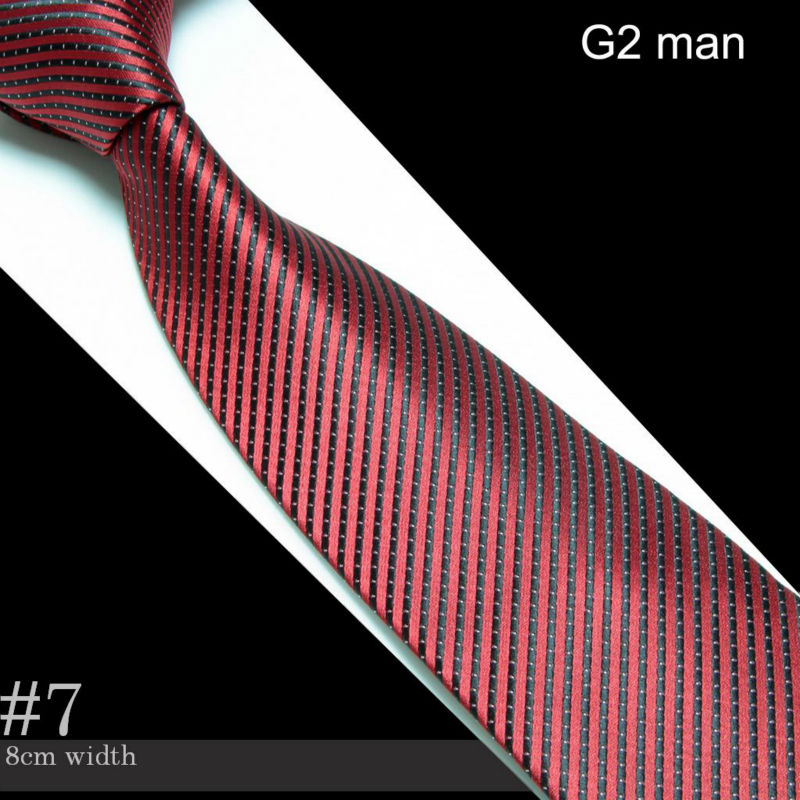 Men's Microfiber Neckties fashion tie neck ties striped(China (Mainland))
