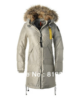 Free shipping 2013 real fur coat for women's down jackets winter outdoor brand clothing parkas overcoat Sanbing Long Bear-W 724