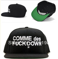 Promotion !! 26 PCS COMME DES FUCKDOWN  snapback cap Men Spring and Summer Cheap Funny Backetball Football  baseball cap