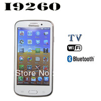 i9260 TV Wifi Bluetooth Quad Band Dual Sim Card 4.7Inch Touch Screen Quad Band Cheap Cell Phone Unlocked Free Shipping