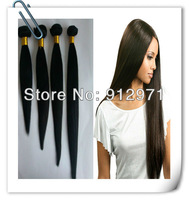 Malaysian virgin remy hair silky straight human hair 4pcs lot mixed length queen products