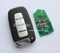 Hyundai i30 , ix35 , Sonata 4 button smart card remote key 434mhz with electronic ID46 chip
