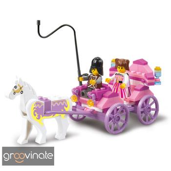 2013 Hot!!!Enlighten Child 0239 Educational Princess carriage SLUBAN building block sets diy toy,children toys free Shipping