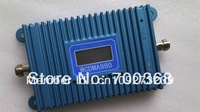 WCDMA980 LCD screen! 2100mhz cell phone 3g signal booster mobile 3g signal repeater amplifier with power adapter