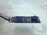 2pcs/pack 7mm Endoscope circuit board side 27mm long 6mm thickness mini camera computer camera 4 LED's