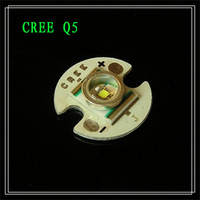 Cree XR-E Q5 WC led with 15mm heatsink plate High Power Bead Emitter free shipping