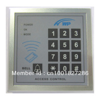 NEW RFID Proximity Door Access Control System With Master Cards and Connecting Access Control Reader ID/EM Keypad 5 fob free