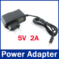 5V 2A DC 2.5mm Eu Plug Converter Charger Power Supply Adapter for  android tablet pc charger