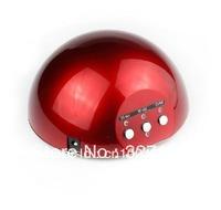 Red 15W CCFL LED UV Gel Nail Art Lamp Nail Dryer Curing Light 110v - 220v equal as 36W UV Lamp