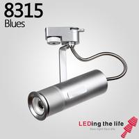 8315 Blue LED focus track spotlight for suspended ceiling lighting from LEDing the life