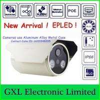 GXL,2 Megapixel IP Camera,IR,Night Vision,Outdoor Waterproof,POE,H.264,Full HD 1080P Bullet Security Camera CS71080IB-PWL-I2H