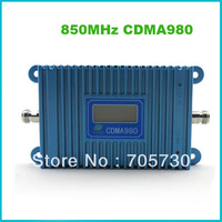LCD Display CDMA 850MHz 65dBi Amplifier CDMA980-B2 Mobile Signal Booster CDMA Repeater