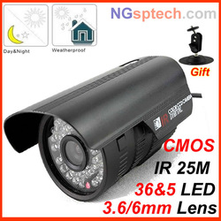 700TVL Color Night Vision Indoor/Outdoor security CMOS IR CCTV Camera(China (Mainland))