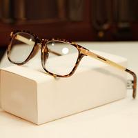 2014 big brand eyeglasses frame women fashion big box glasses brand club frame eyes box plain mirror oculos ,free shippingy300