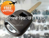 Blank key shell for Toyota Yaris, folding key, remote control key shell case, 2 buttons, Free Shipping