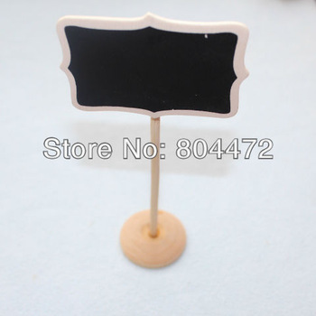50 x Mini chalkboards on the stick Place holder For Wedding Party Christmas Decorations