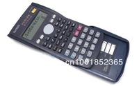 Free Shiping  calculating machine New Designer  FX-82MS Scientific 2-Line Display Calculator Scientific Calculator for children