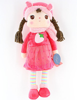 Free Shipping Metoo Winter Dress Doll,Angela Girl Fabric Toy For Children Birthday Gifts  42cm 1pc