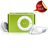 MINI clip MP3 Player with Micro TF/SD card Slot with cable+earphone No retail box Free shipping
